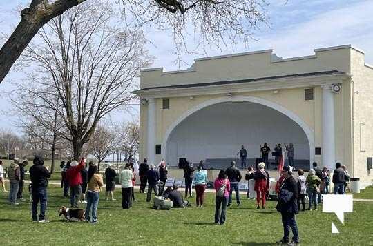 Victoria Park Cobourg Protest April 24, 20211699
