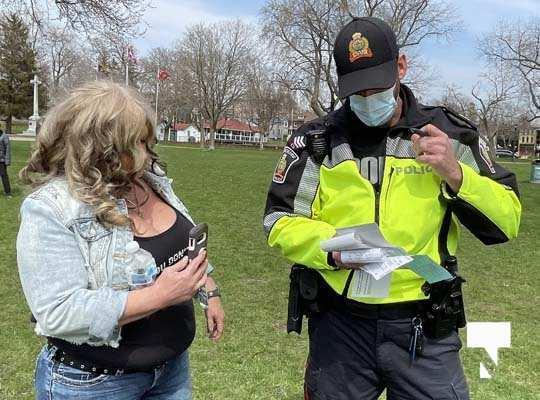 Victoria Park Cobourg Protest April 24, 20211703