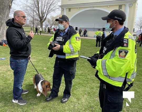 Victoria Park Cobourg Protest April 24, 20211704