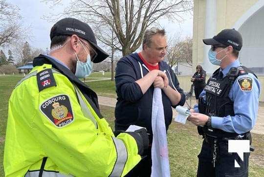 Victoria Park Cobourg Protest April 24, 20211705