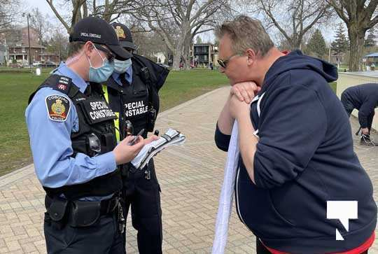 Victoria Park Cobourg Protest April 24, 20211706