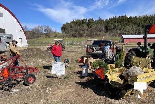 Planting Trees Cramahe Township May 1, 20211829