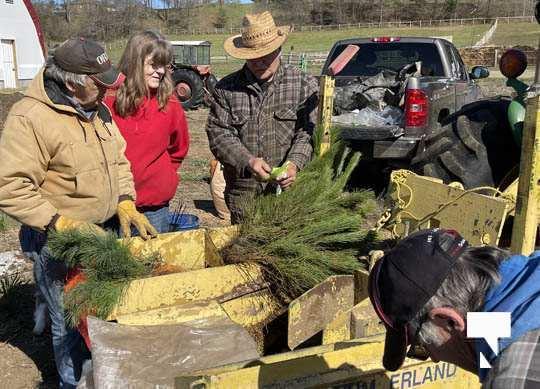 Planting Trees Cramahe Township May 1, 20211833