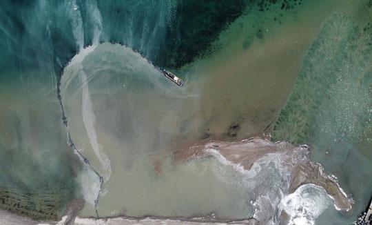 Aerial Cobourg Harbour June 17, 20213216