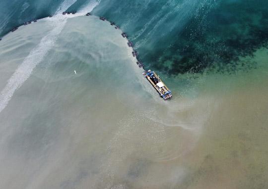 Aerial Cobourg Harbour June 17, 20213219