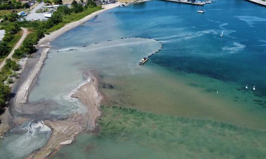 Aerial Cobourg Harbour June 17, 20213221