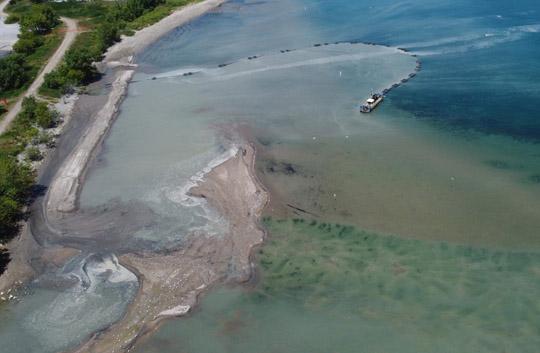 Aerial Cobourg Harbour June 17, 20213222