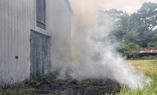 Brush Fire Cramahe June 13, 20213062