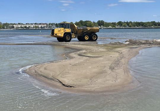 Digging Cobourg Harbour June 15, 20213140