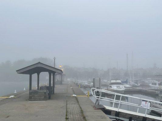 Fog Cobourg June 8, 20212860