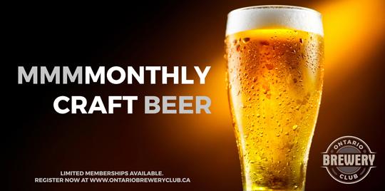 Ontario Brewery Club 1