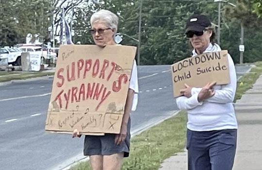 Protest Port Hope June 5, 20212753