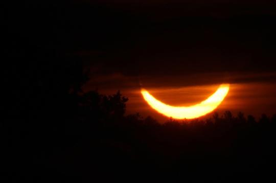 Solar Eclipse Hamilton Township June 10, 20212920