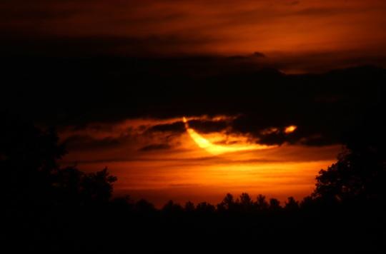 Solar Eclipse Hamilton Township June 10, 20212921
