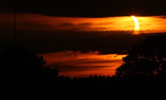 Solar Eclipse Hamilton Township June 10, 20212924
