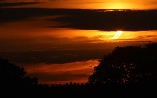 Solar Eclipse Hamilton Township June 10, 20212926