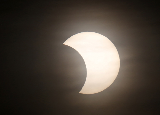 Solar Eclipse Hamilton Township June 10, 20212933