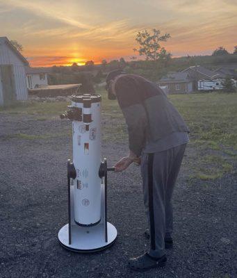 Solar Eclipse Hamilton Township June 10, 20212938