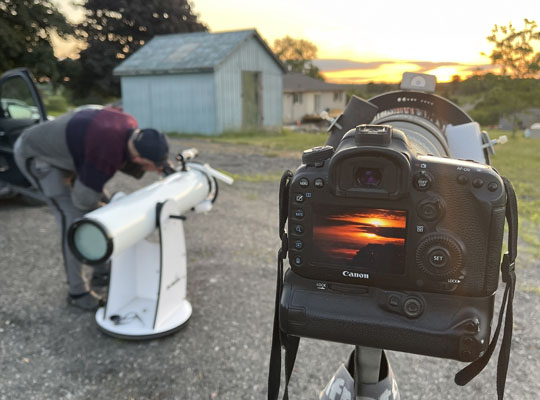 Solar Eclipse Hamilton Township June 10, 20212939