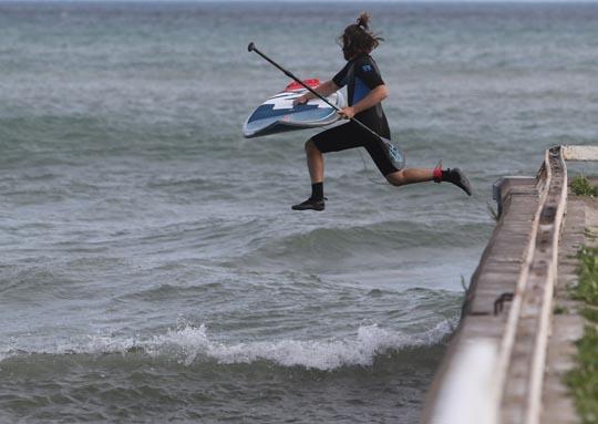 Surfing Cobourg June 2, 20213286