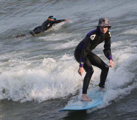 Surfing Cobourg June 2, 20213291