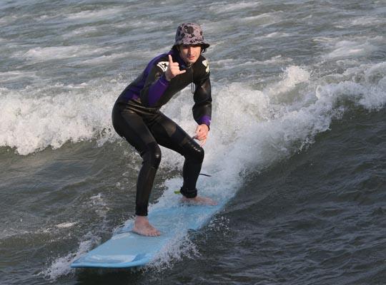Surfing Cobourg June 2, 20213293