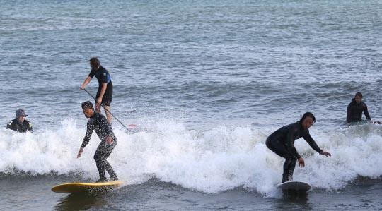 Surfing Cobourg June 2, 20213296