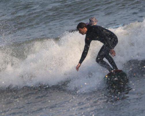 Surfing Cobourg June 2, 20213297