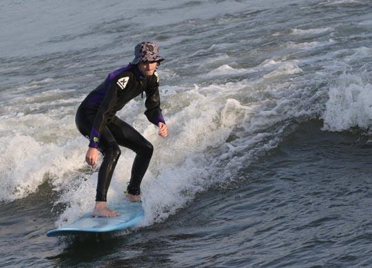 Surfing Cobourg June 2, 20213299