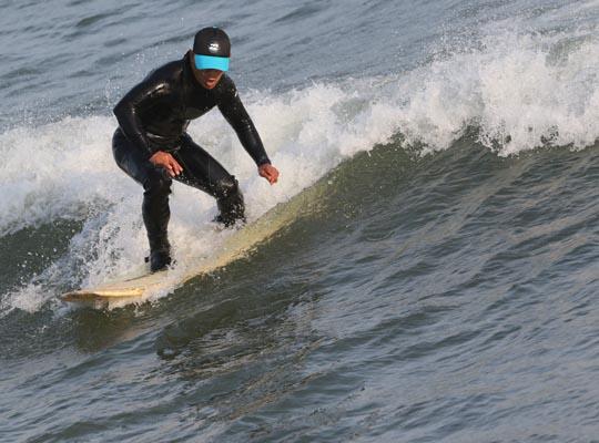 Surfing Cobourg June 2, 20213301