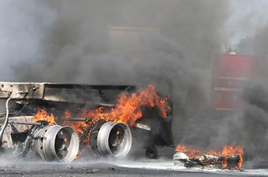 Transport Fire Highway 401 Colborne June 15, 20213159