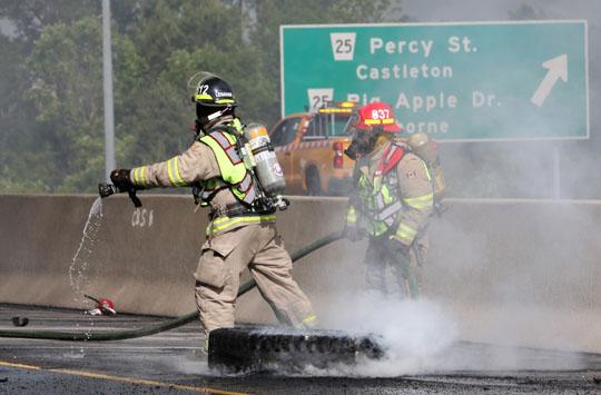 Transport Fire Highway 401 Colborne June 15, 20213161