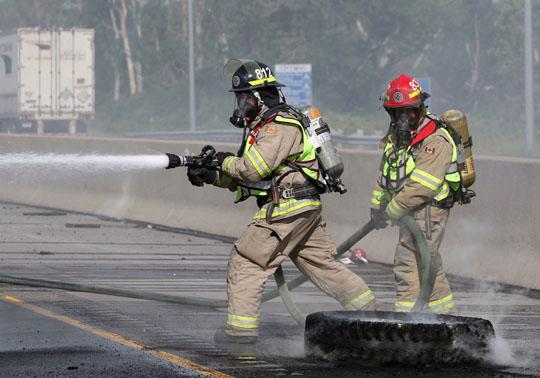 Transport Fire Highway 401 Colborne June 15, 20213162