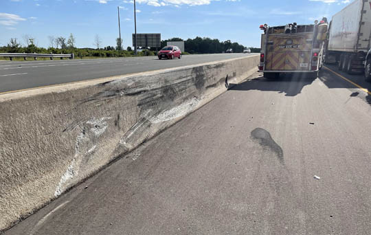 Transport Fire Highway 401 Colborne June 15, 20213179