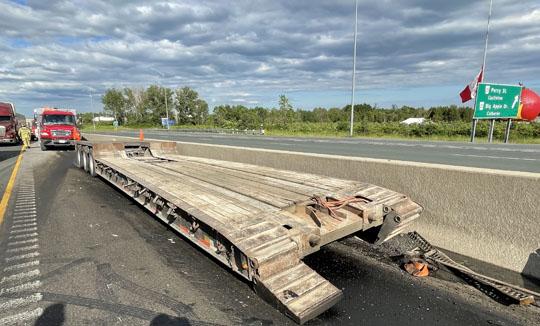 Transport Fire Highway 401 Colborne June 15, 20213181