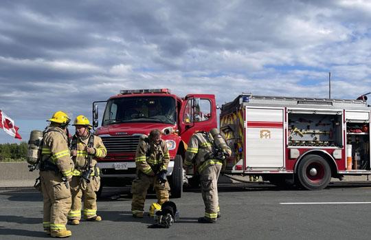 Transport Fire Highway 401 Colborne June 15, 20213182