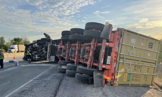 Transport Rollover Highway 401 June 2, 20212622