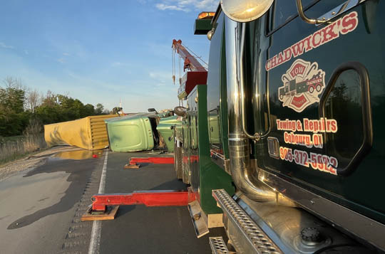 Transport Rollover Highway 401 June 2, 20212633