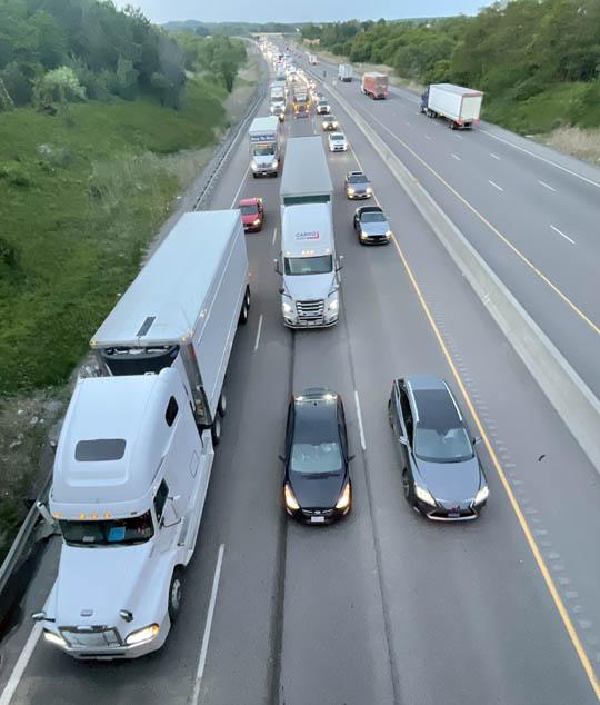 Transport Rollover Highway 401 June 2, 20212637