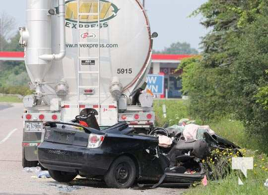 Double Fatal Hwy 401 Newtonville July 19, 20210099