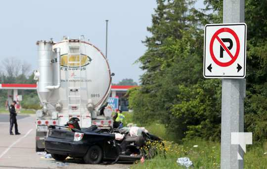 Double Fatal Hwy 401 Newtonville July 19, 20210103
