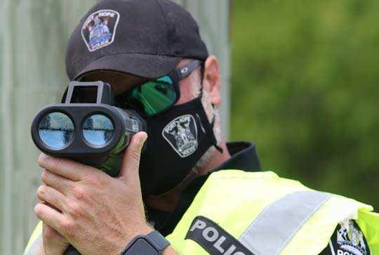 Port Hope Police Radar Training July 15, 20210062
