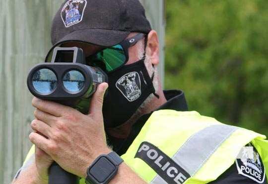 Port Hope Police Radar Training July 15, 20210063