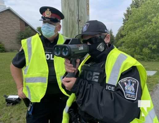 Port Hope Police Radar Training July 15, 20210064