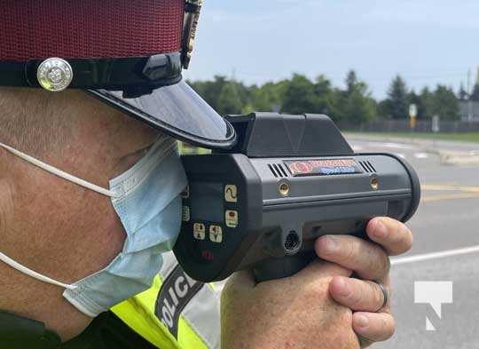 Port Hope Police Radar Training July 15, 20210065