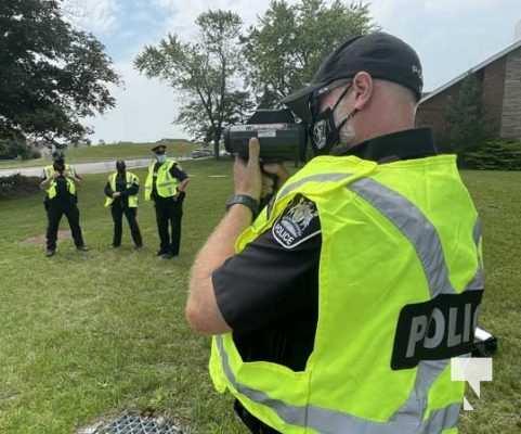 Port Hope Police Radar Training July 15, 20210066