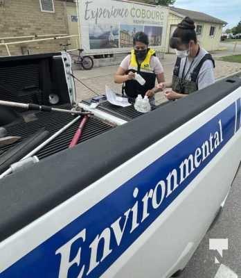 Water Testing Victoria Beach Cobourg July 12, 20213879