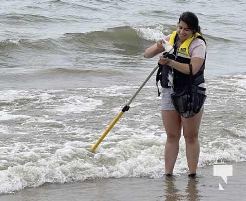 Water Testing Victoria Beach Cobourg July 12, 20213882