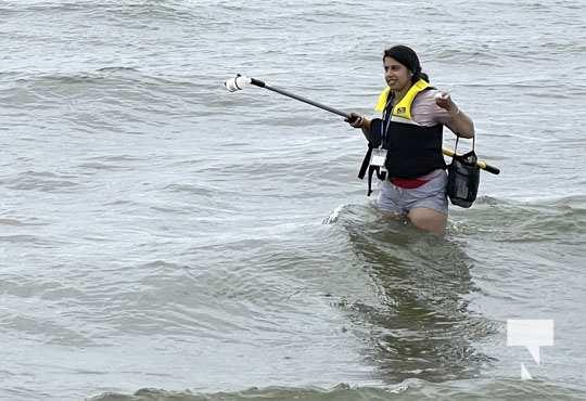 Water Testing Victoria Beach Cobourg July 12, 20213884
