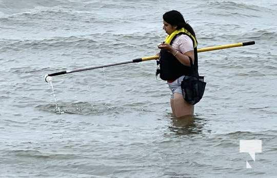 Water Testing Victoria Beach Cobourg July 12, 20213885